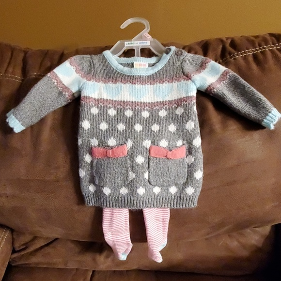 BABY TODDLER GIRL/'S SWEATER CARDIGAN HEALTHTEX *NWT